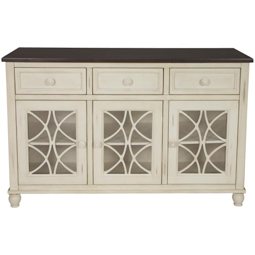 John Thomas Camden 3 Drawer and 3 Door Buffet