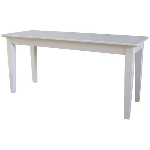 John Thomas Dining Essentials Contemporary Dining Bench