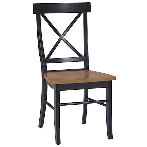 John Thomas Dining Essentials X-Back Side Chair