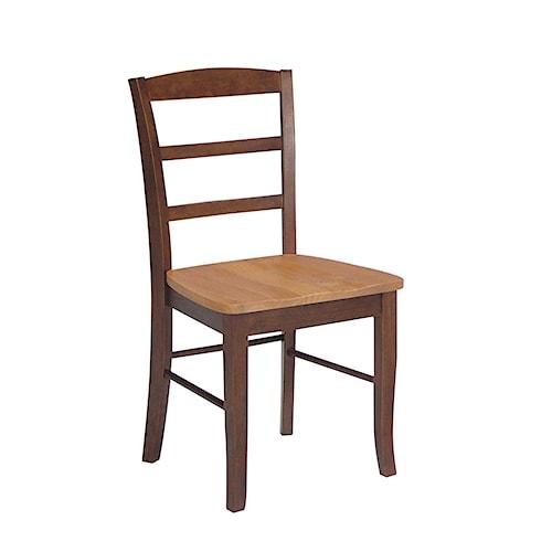 John Thomas Dining Essentials Ladderback Side Chair
