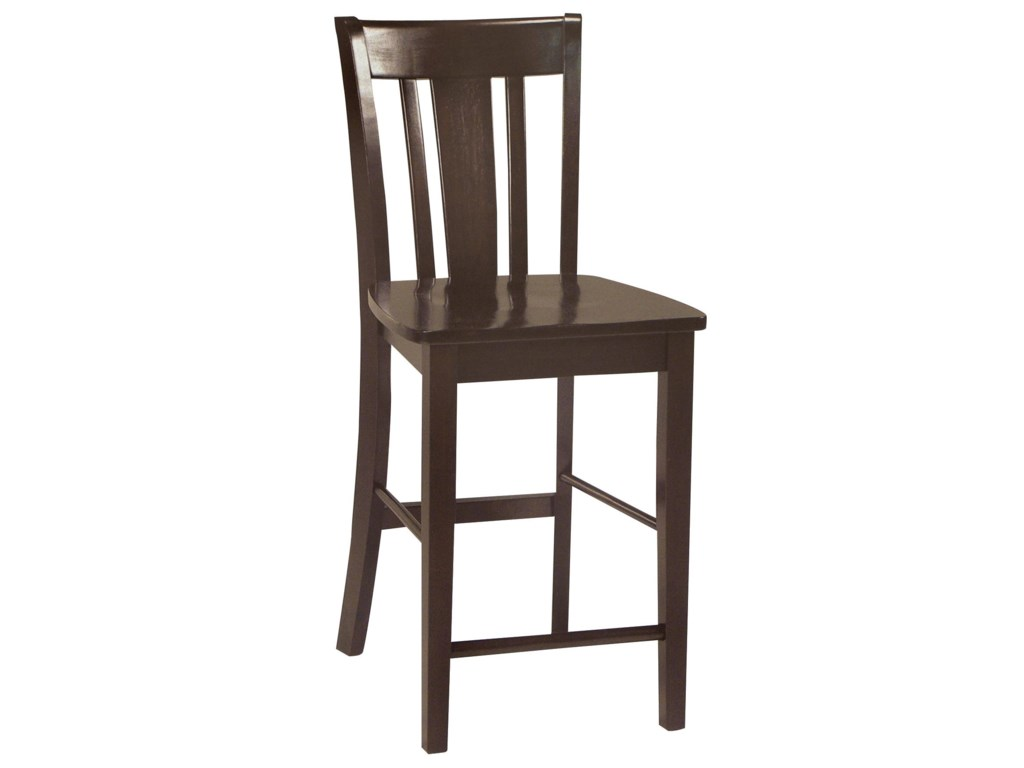 John Thomas Dining EssentialsSplat Back Bar Chair