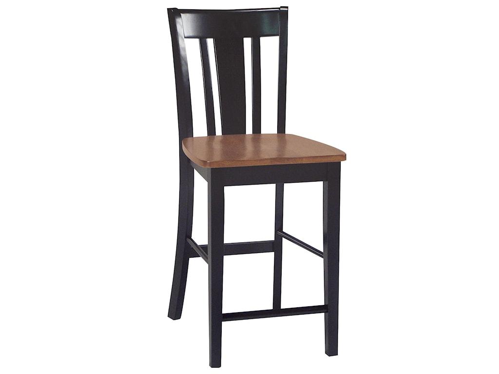 John Thomas Dining EssentialsSplat Back Bar Chair