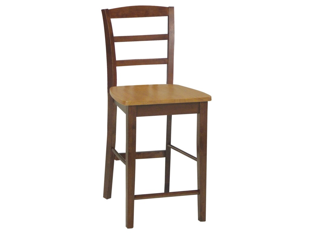John Thomas Dining EssentialsLadderback Bar Chair