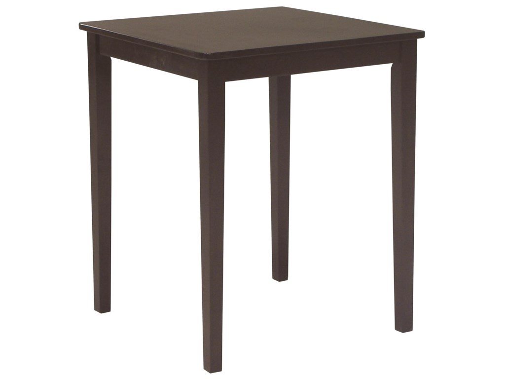 John Thomas Dining EssentialsContemporary Square Pub Table