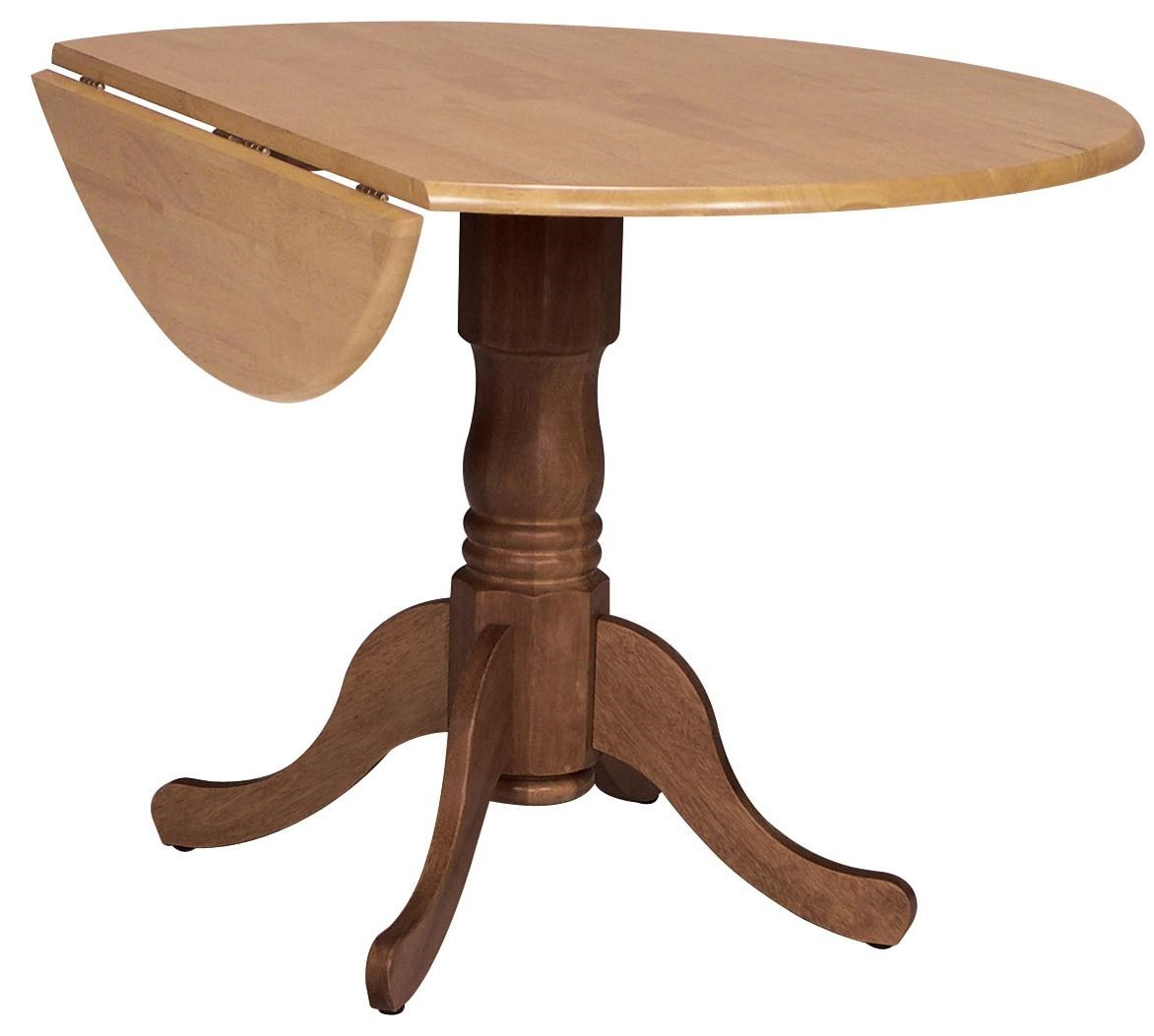 Beau ... Round Drop Leaf Pedestal Table. John Thomas Dining Essentials42 ...