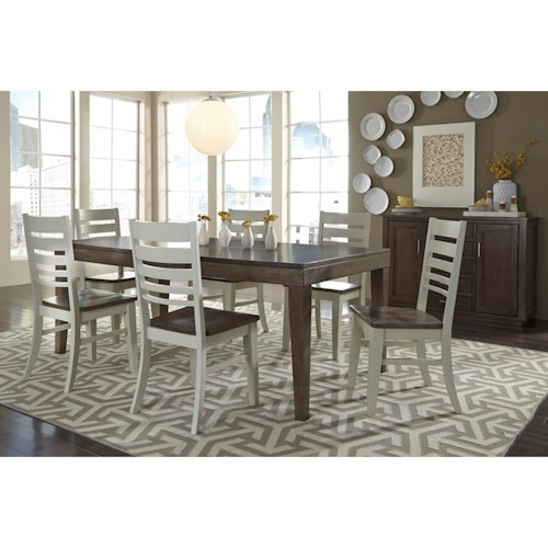John Thomas Luxe Contemporary Dining Room Group
