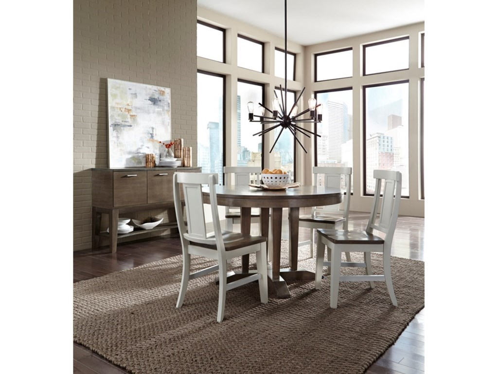 John Thomas LuxeTable and Chair Set
