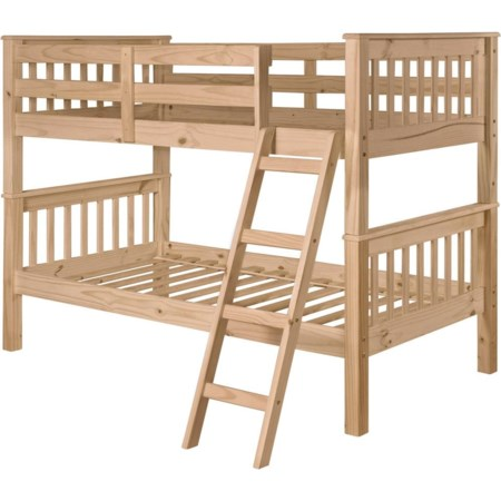Twin/Twin Pine Mission Bunk