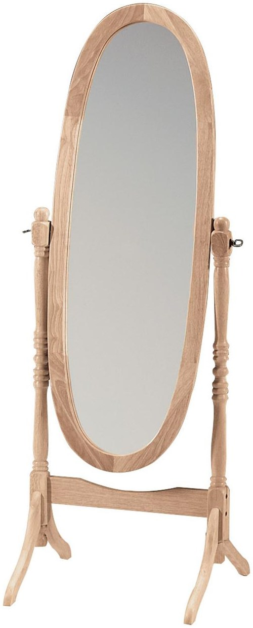 John Thomas SELECT Home Accents Oval Cheval Mirror
