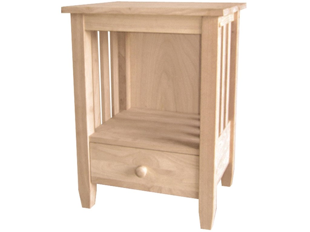 John Thomas SELECT Home AccentsOne-Drawer Mission End Table