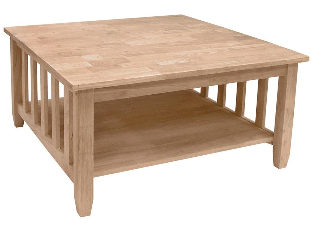 John Thomas SELECT Home AccentsMission Square Coffee Table