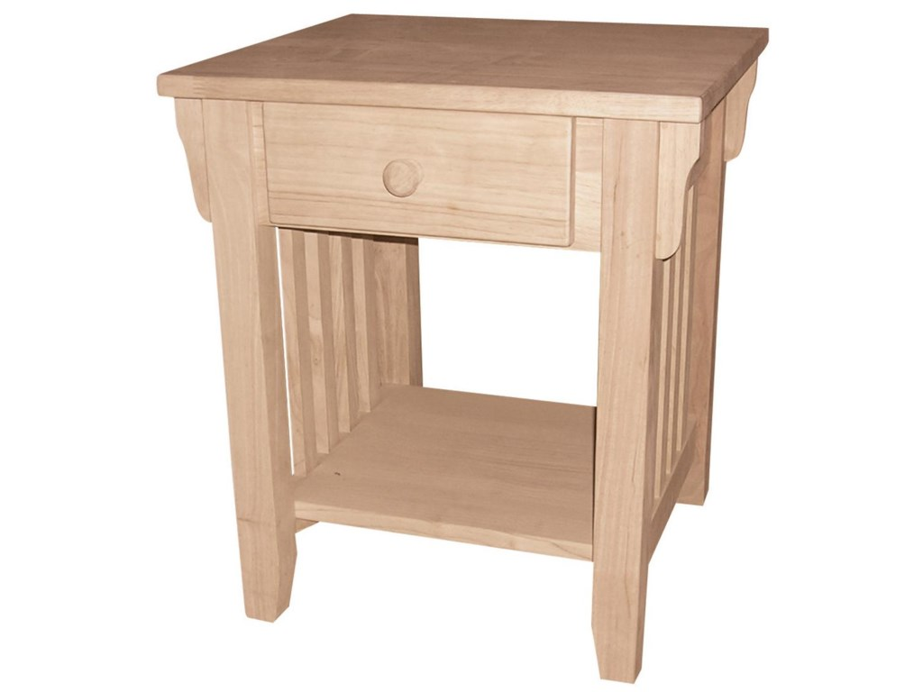 John Thomas SELECT Home Accents1-Drawer Mission End Table