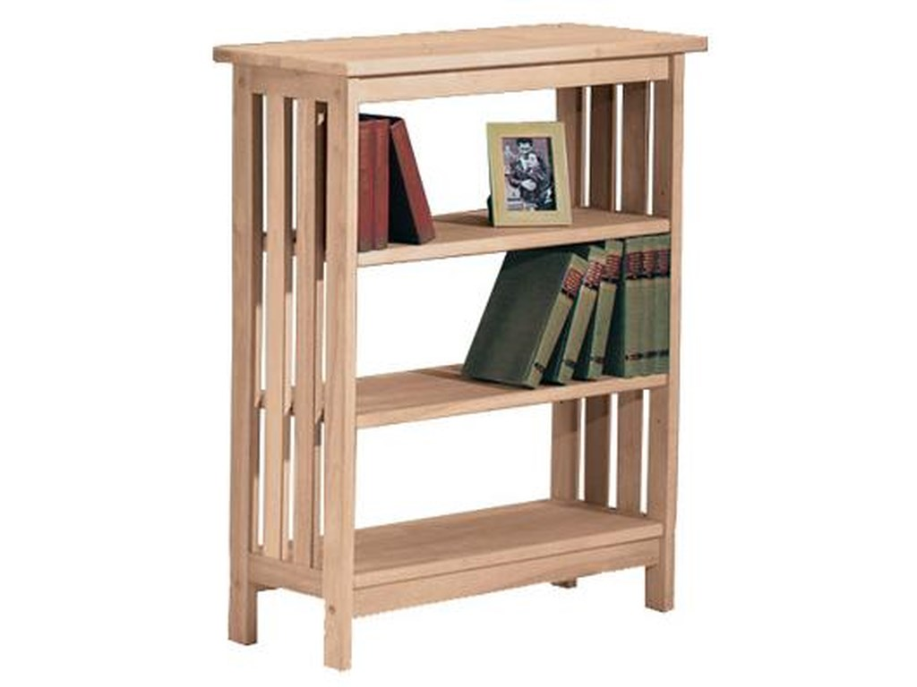 John Thomas SELECT Home Accents3-Shelf Mission Bookcase