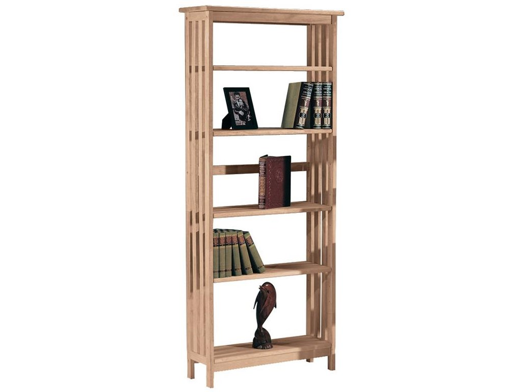 John Thomas SELECT Home Accents5-Shelf Mission Bookcase