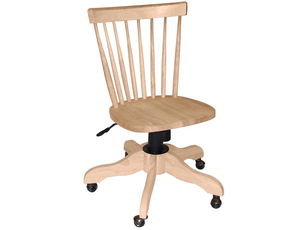 John Thomas Select Home Office Copenhagen Desk Chair Wayside