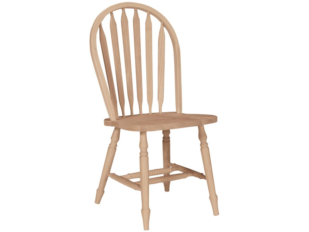 John Thomas SELECT DiningArrowback Windsor Chair with Turned Legs
