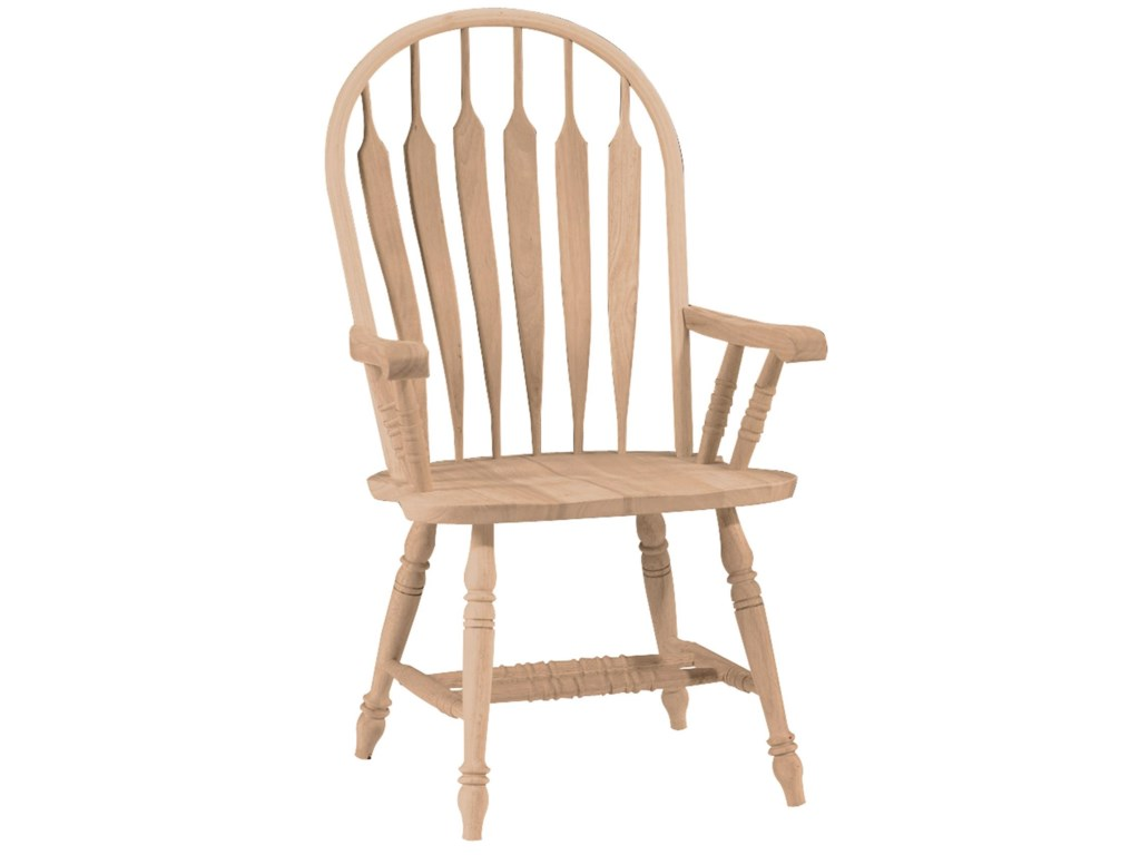 John Thomas SELECT DiningDeluxe Steambent Windsor Arm Chair