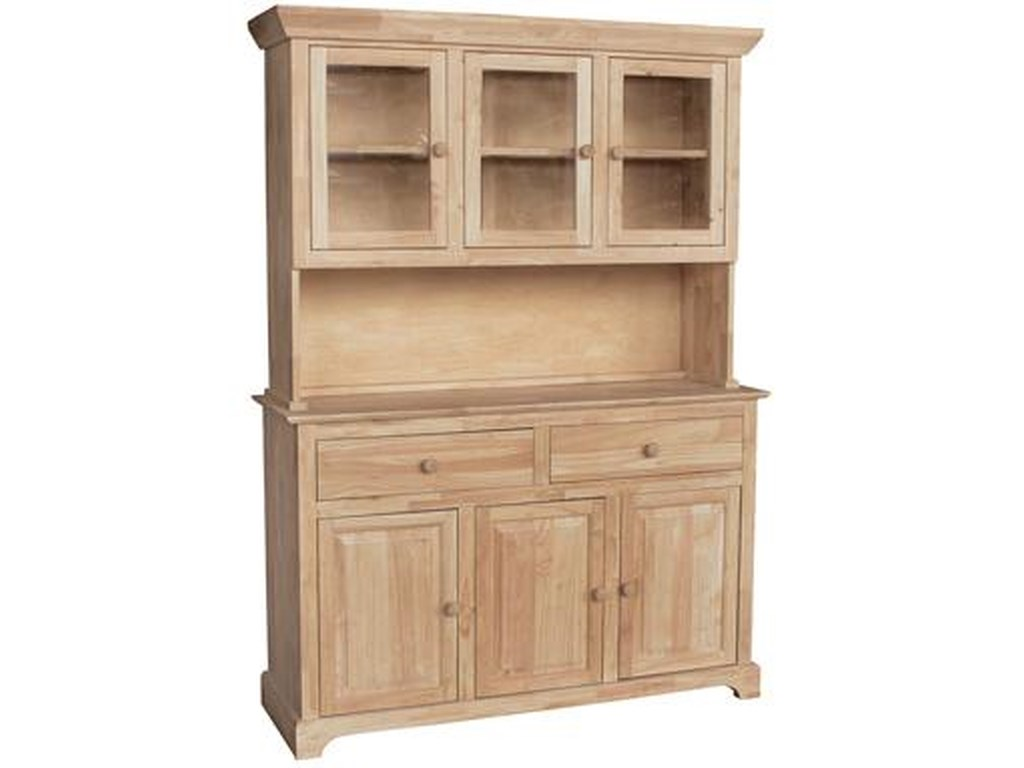 John Thomas SELECT Dining6-Door 3-Drawer Buffet & Hutch