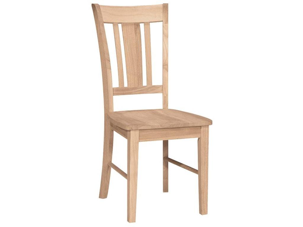 John Thomas SELECT DiningSan Remo Slatback Chair