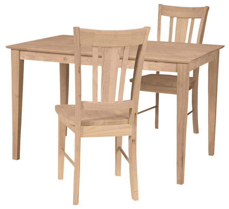 Shown in 3-Piece Table Set
