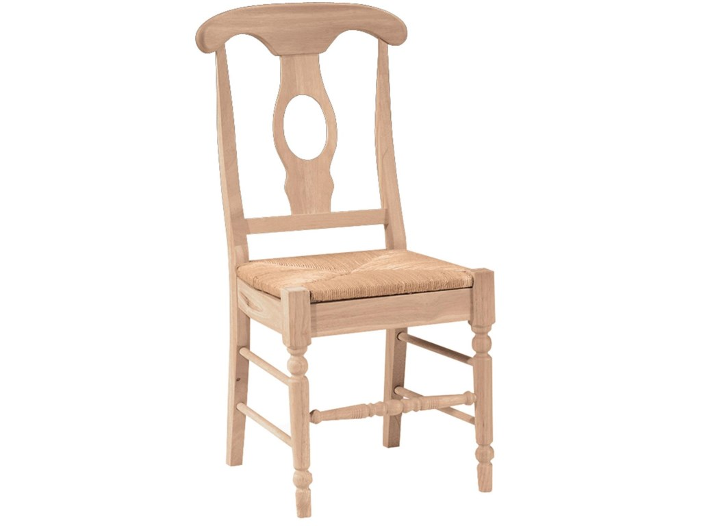 John Thomas SELECT DiningEmpire Chair with Rush Seat