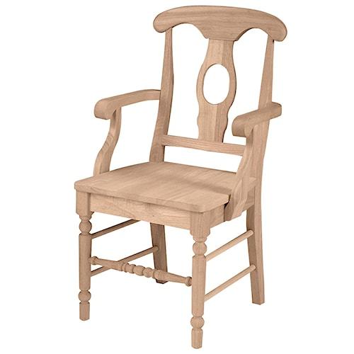 John Thomas SELECT Dining Empire Arm Chair