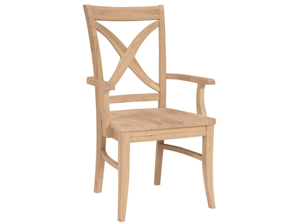John Thomas SELECT DiningVineyard Arm Chair