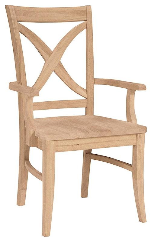 John Thomas SELECT Dining Vineyard Arm Chair
