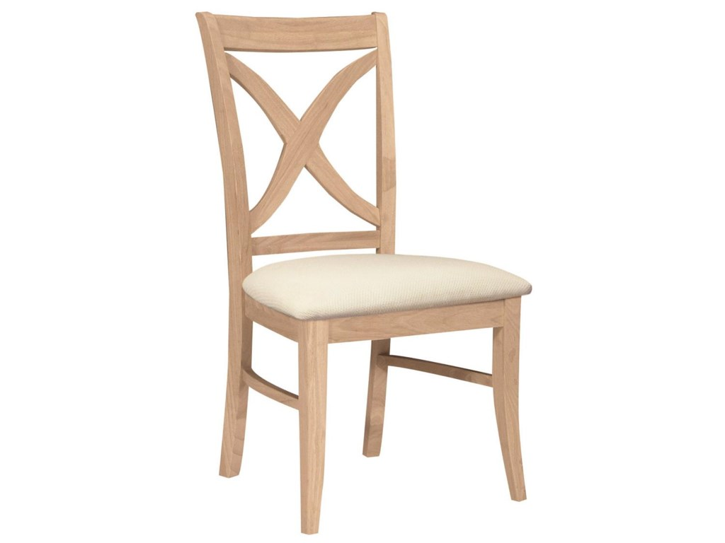 John Thomas SELECT DiningVineyard Chair with Seat Cushion
