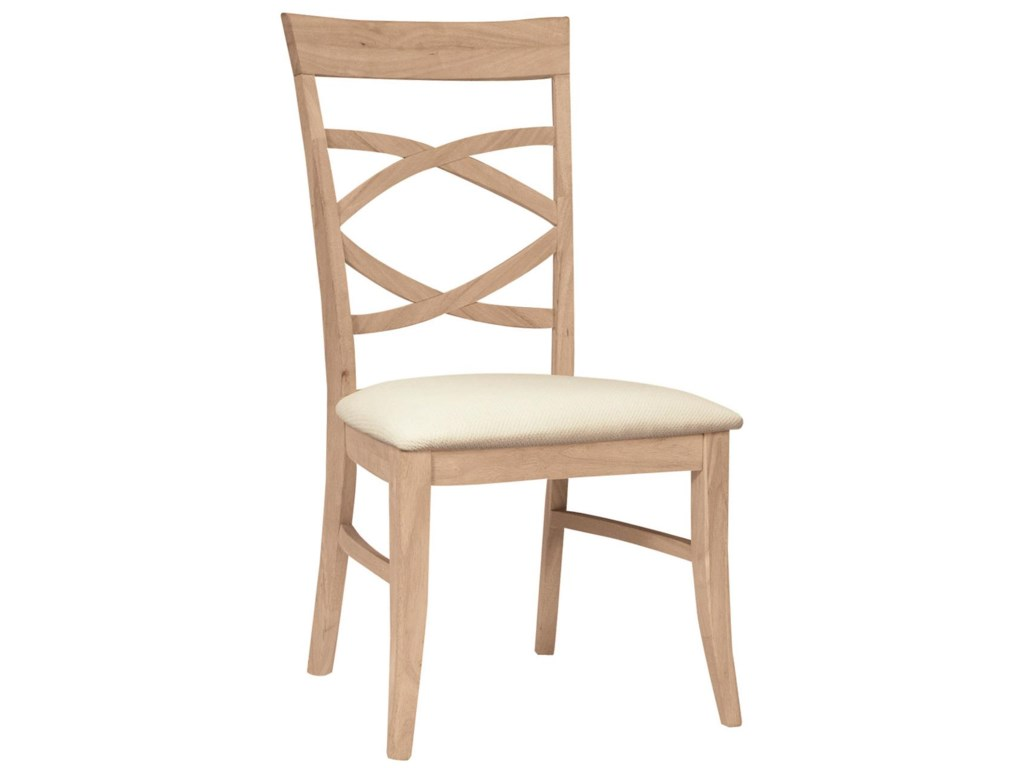 John Thomas SELECT DiningMilano Chair with Seat Cushion