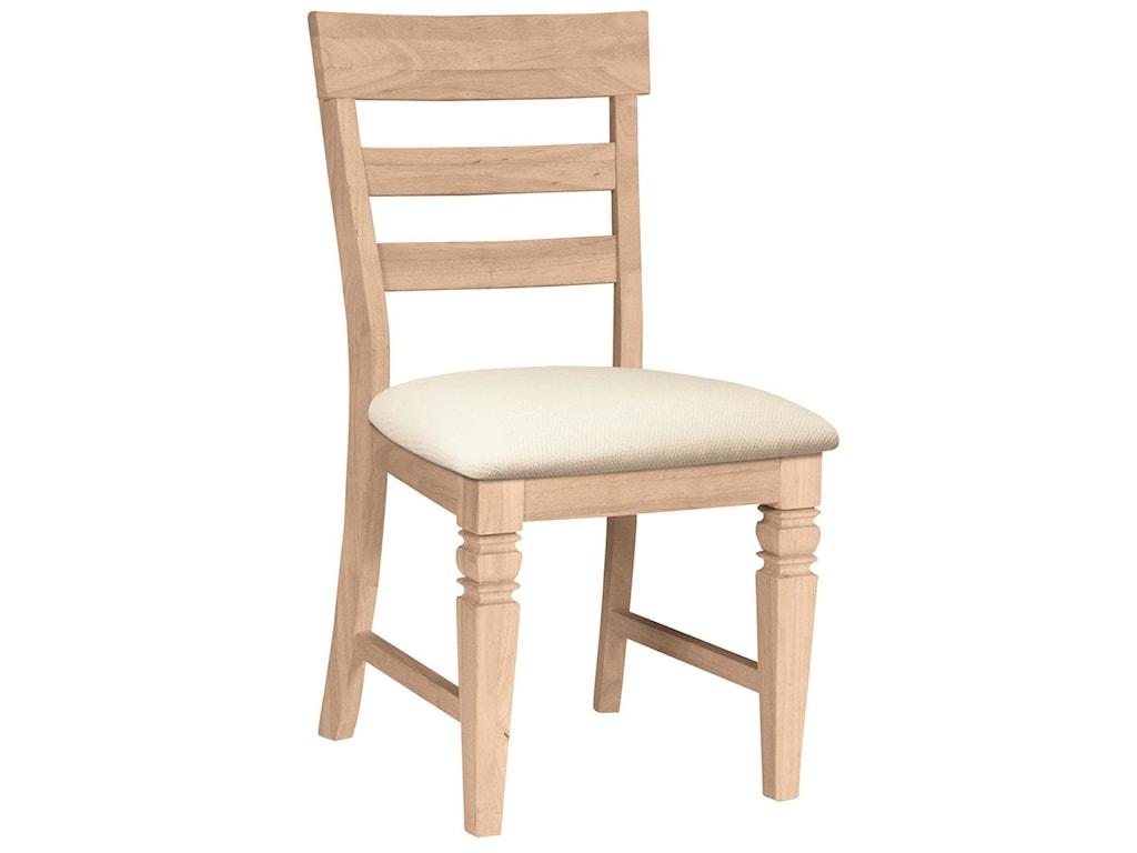 John Thomas SELECT DiningJava Chair with Seat Cushion