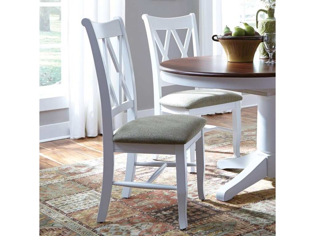 John Thomas SELECT DiningDouble X-Back Chair