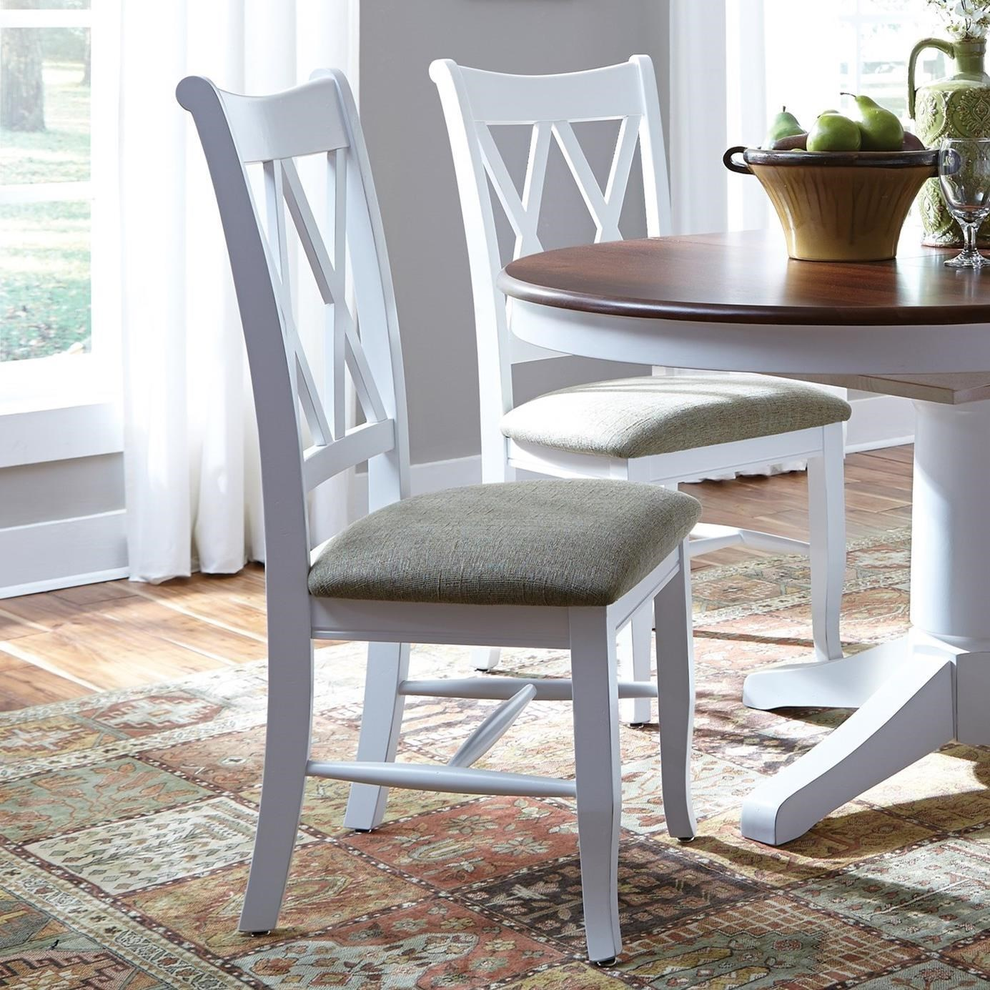 John Thomas SELECT DiningDouble X Back Chair ...