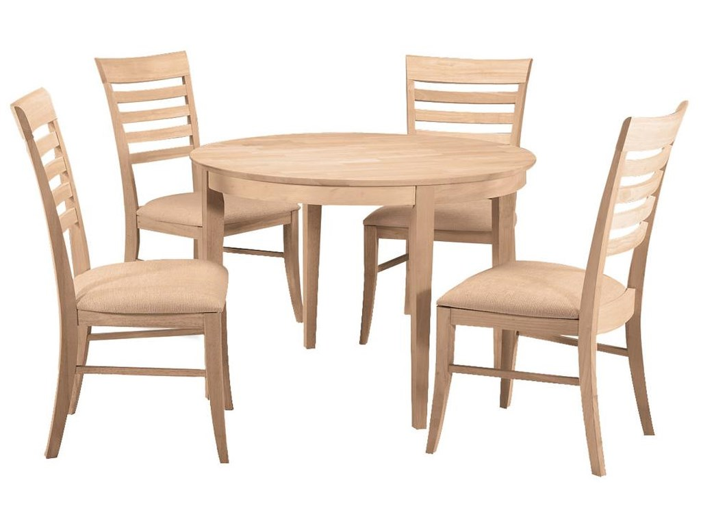 John Thomas SELECT DiningRoma Chair with Seat Cushion