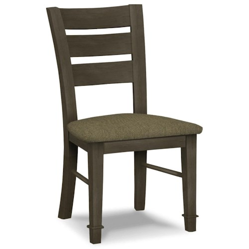 John Thomas SELECT Dining Tuscany Side Chair with Ladder Back
