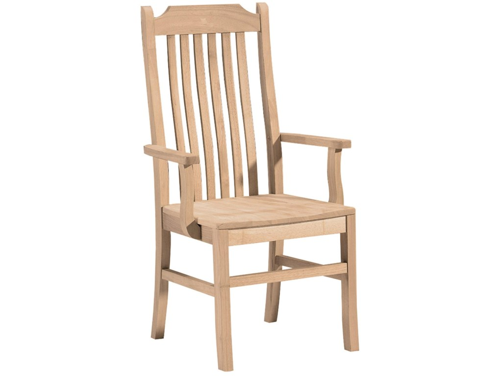 John Thomas SELECT DiningTall Mission Arm Chair