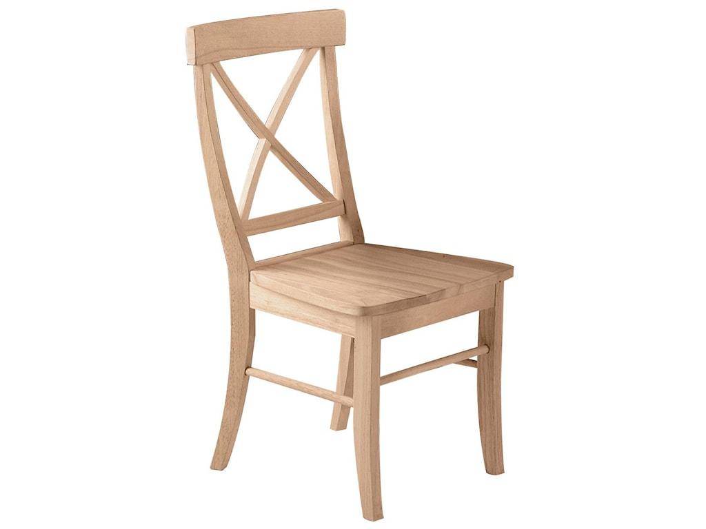 John Thomas SELECT DiningX-Back Chair