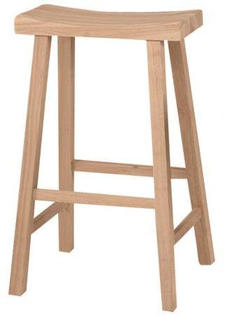John Thomas Select Dining 30 Saddle Seat Stool Furniture Barn