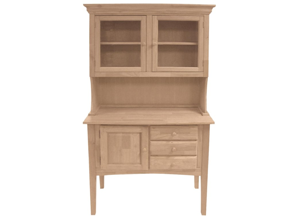 John Thomas SELECT Dining2-Door Hutch & Huntboard Server