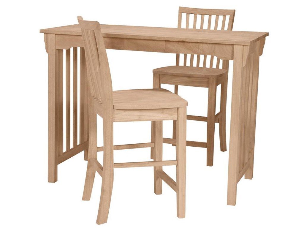 John Thomas SELECT DiningMission Gathering Height Table