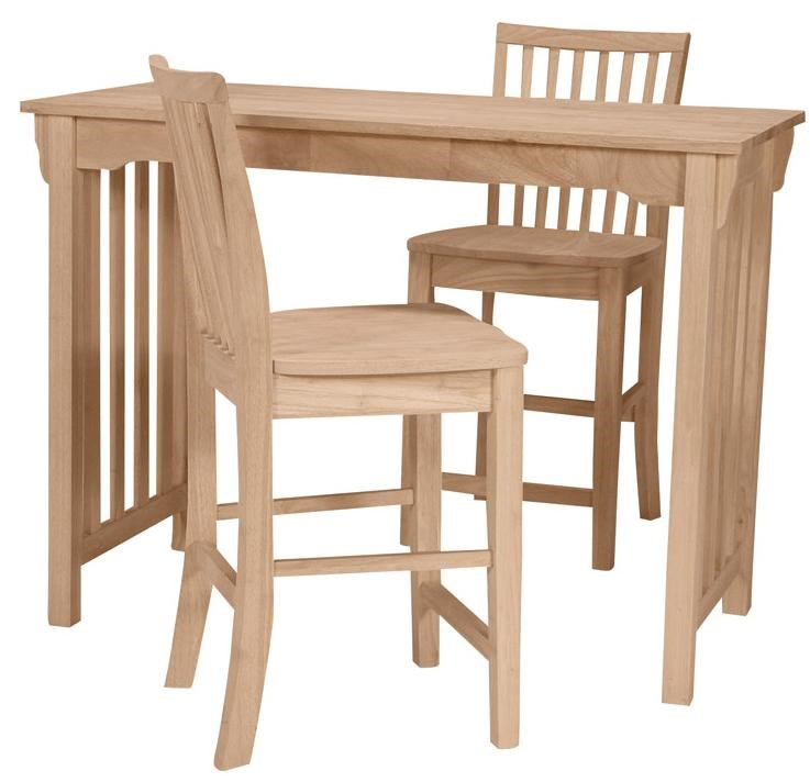 Shown with 2 Mission Stools