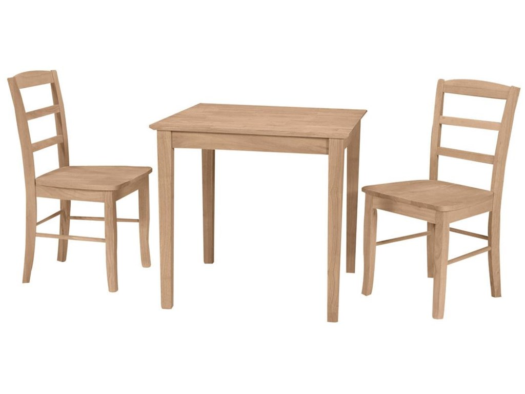 Shown with 2 Madrid Chairs
