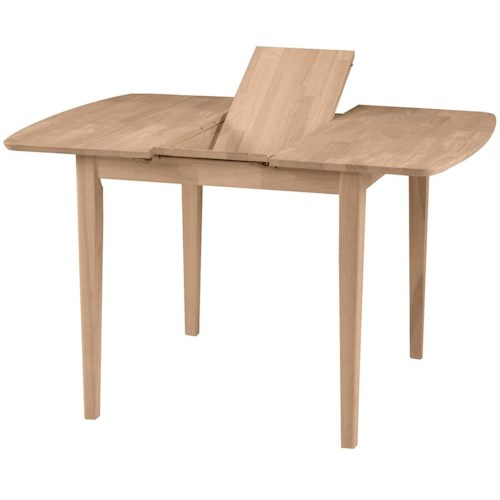 John Thomas SELECT Dining Small Butterfly Leaf Table