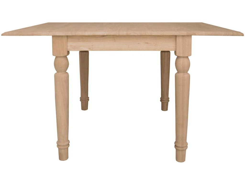 John Thomas SELECT DiningDouble Dropleaf Table