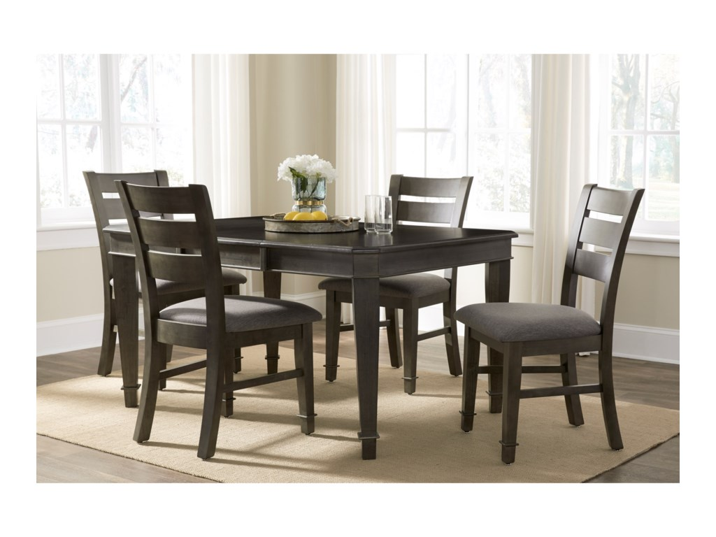 John Thomas SELECT Dining 5-Piece Table and Chair Set with Butterfly ...