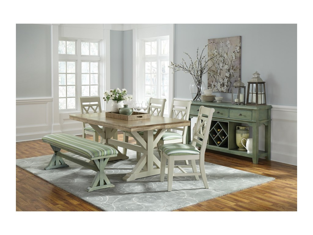 John Thomas SELECT DiningFarmhouse Dining Set