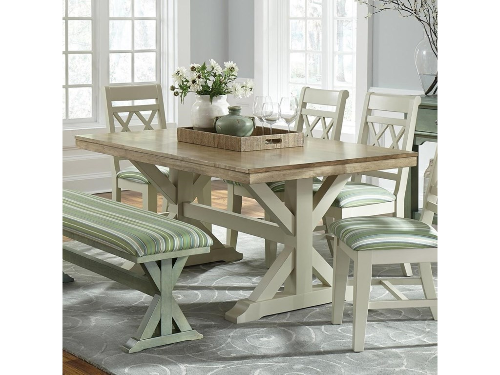 John Thomas SELECT DiningTrestle Dining Table