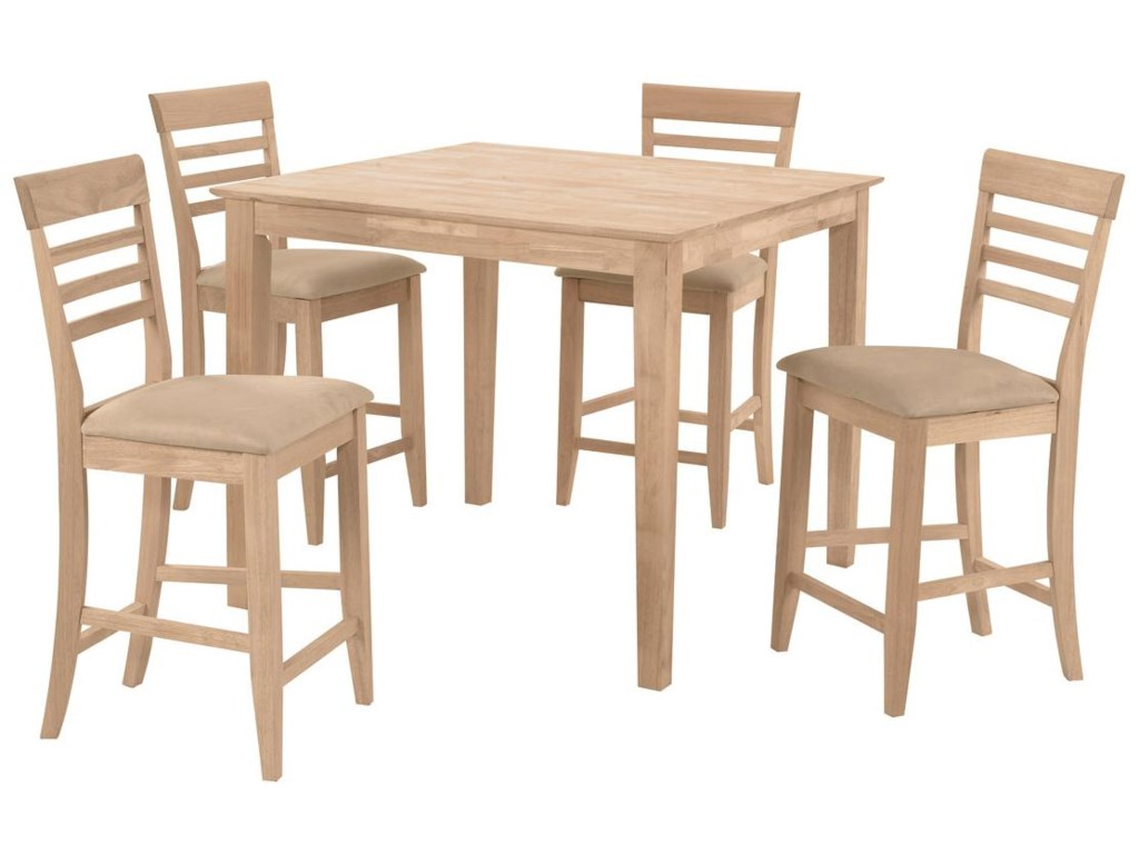 Shown with 4 Roma Stools