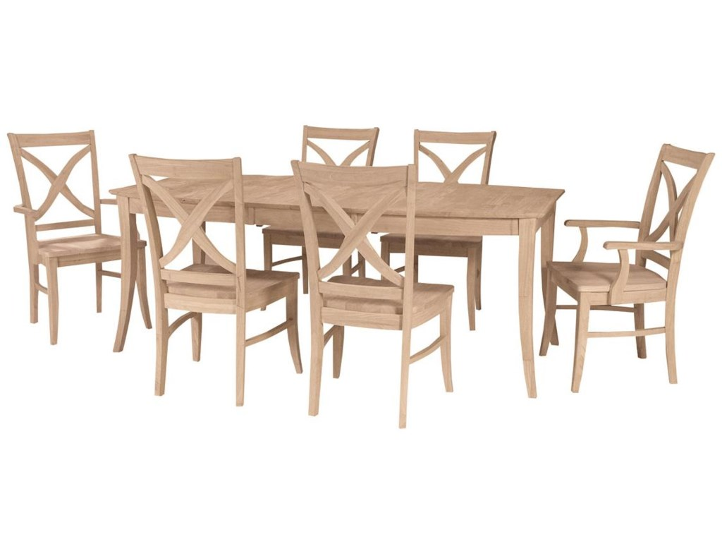 John Thomas SELECT DiningVineyard Butterfly Leaf Table