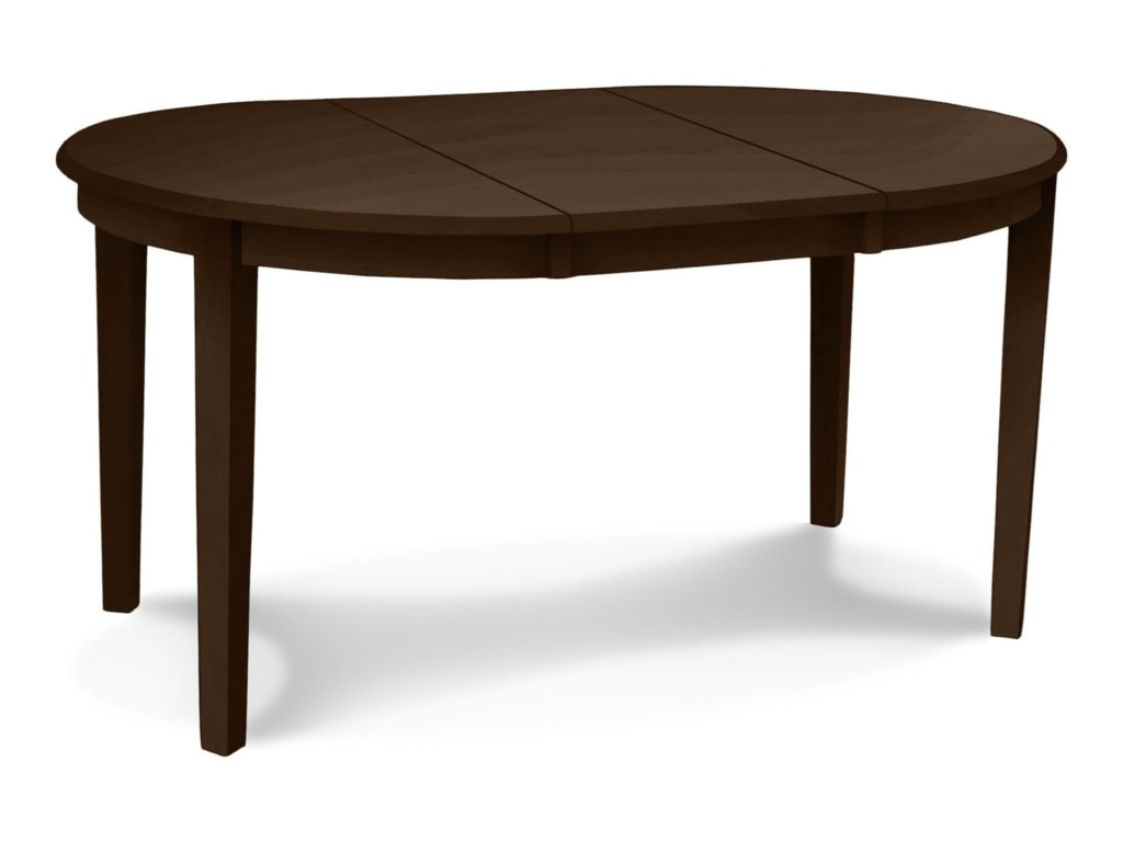 John Thomas Select Dining Emily 42 Round Table With